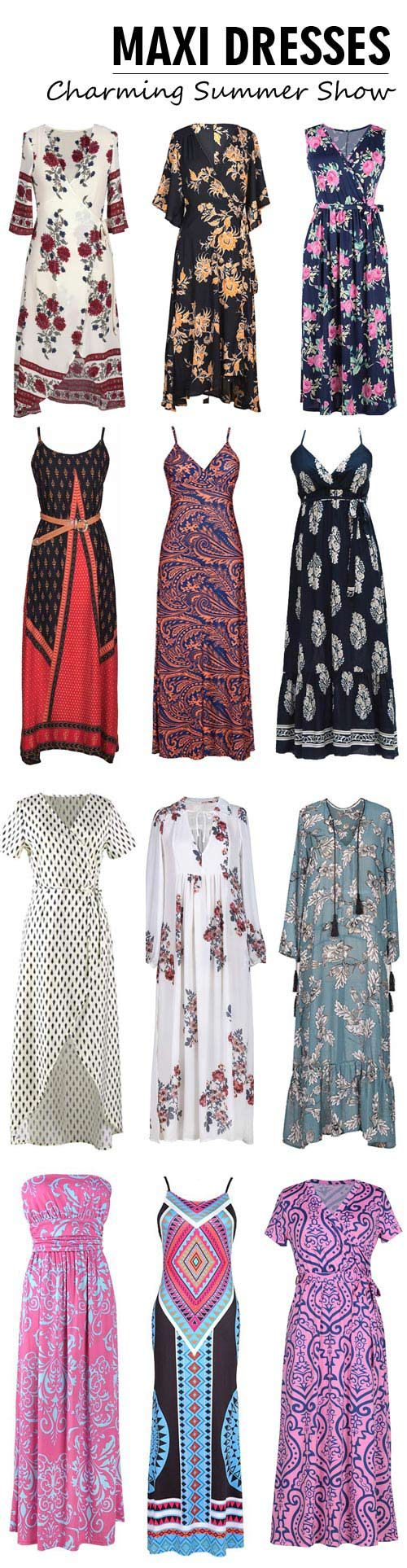We have all the maxi-dresses to let you dazzle in chic style! They are well-designed in comfortable fabric. Find more amazing maxi-dresses at Cupshe.com !