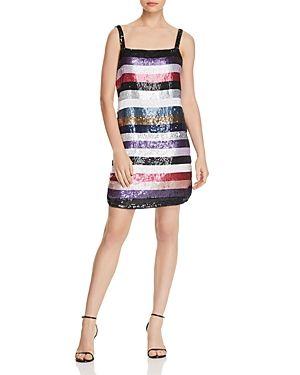 PARKER NORA SEQUIN SHIFT DRESS. #parker #cloth #