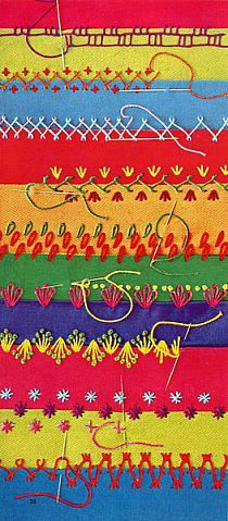 puntos de Bordados: Ideas, Embroidery, Hands Embroidery, Embroidery Design, Crazy Quilt Stitches, Embroidery Stitches, Africans Art, Crazy Quilts Stitches, Art Projects