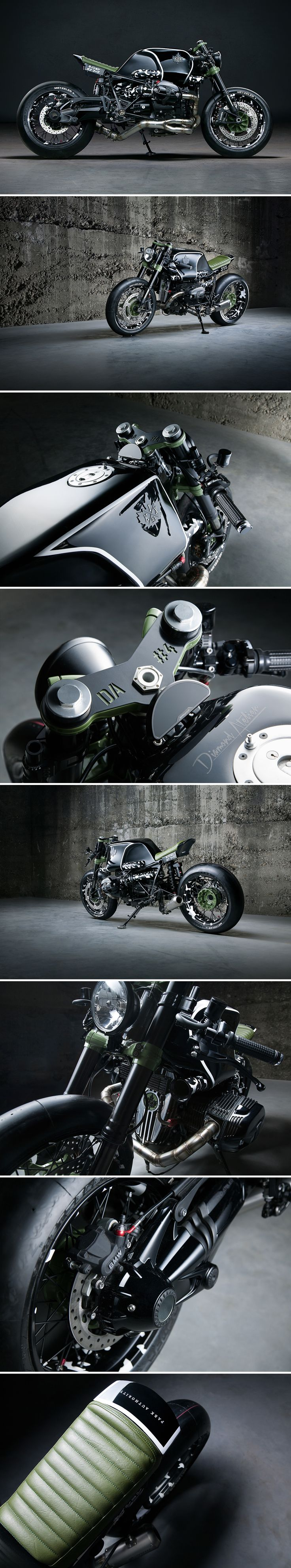 BMW R NineT DA#4 by Diamand Atelier