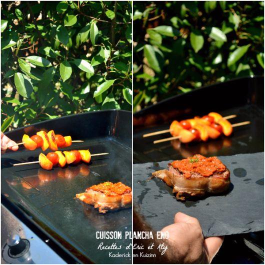 plancha eno tournedos boeuf sauce sévillane cuisson à la plancha Eno® chez Kaderick