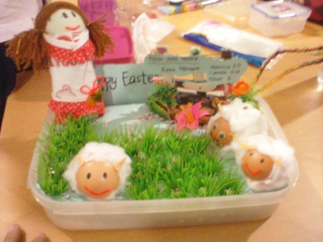 be 1st champion in easter's egg competition at my school :)