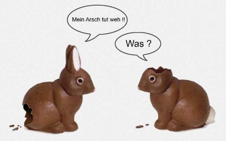 Ostern. Zeit für diesen Klassiker. (Found online)