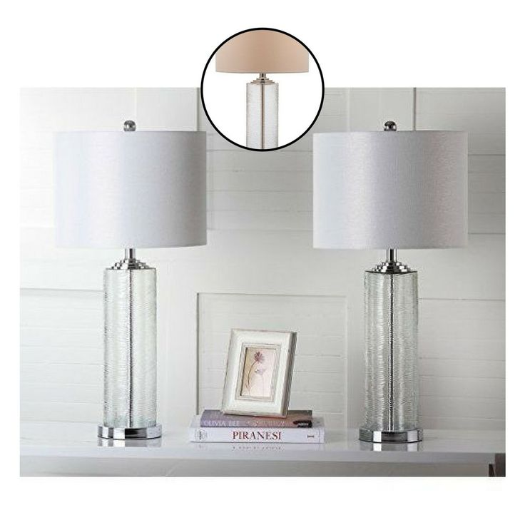 Modern Table Lamps Set of 2 Contemporary Home Decoration Light Shade Design #Unbranded #Contemporary