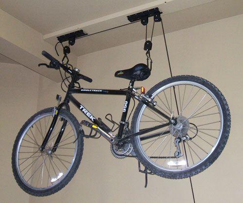 Image Detail For Garage Ceiling Mounted Bike Storage
