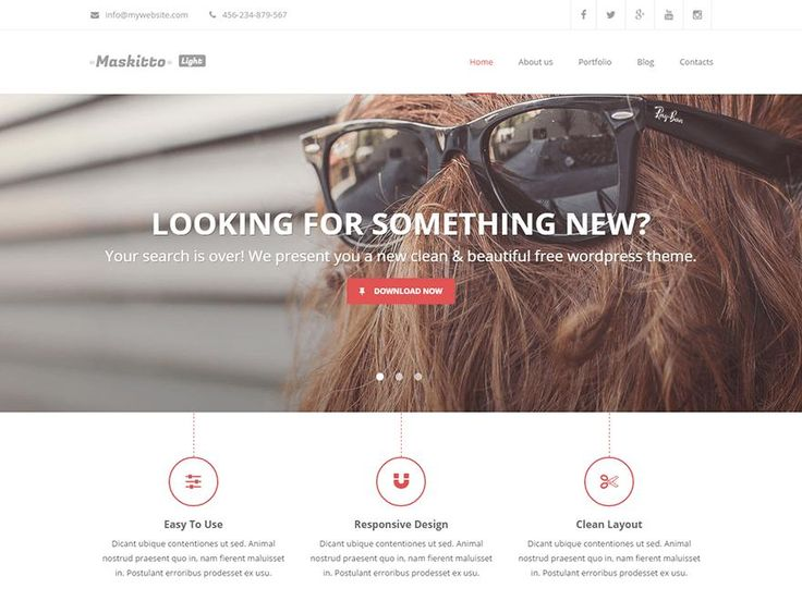 Maskitto Light is wordpress theme with clean design and completed with unlimited color scheme. Bunch of useful features like, responsive design, united colhttp://jabirah.com/m/maskitto-light-wordpress-theme-clean-design-and-responsive.html