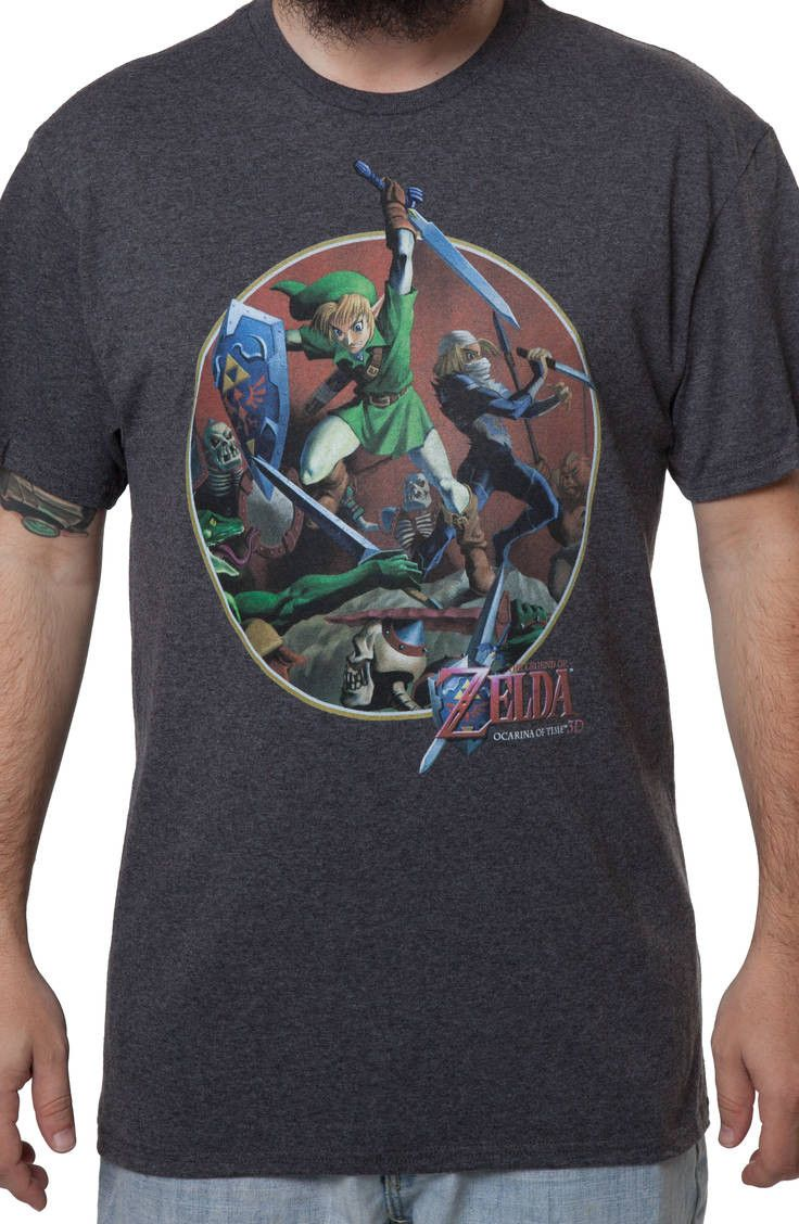 Zelda Items Tshirt - Zelda Mens Cotton T-Shirt Zelda Tshirt Ocarina Tshirt Videogame Tshirt Geeky T-Shirt Cosplay T-shirt Boomerang Tshirt 35NLzN