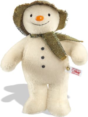 "Steiff's ""The Snowman"" from the Raymond Briggs' book (EAN 664557). Limited edition of 1500 worldwide."