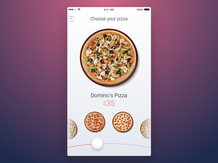 9th Week (Thursday) - Pizza by Ron Evgeniy