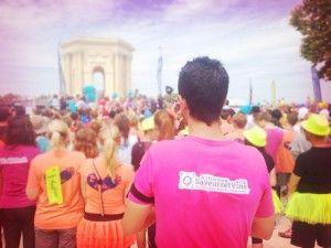 La Montpellier Reine ! Course pour la lutte contre le cancer du sein !  Notre équipe a participé à cette manifestation