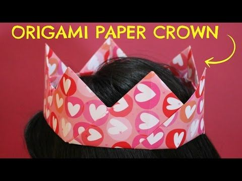 HOW TO MAKE PAPER CROWN FOR KIDS | ORIGAMI - YouTube