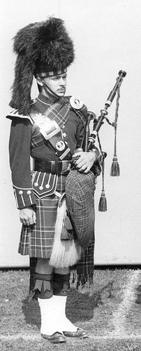 Black Watch of Canada piper 1967