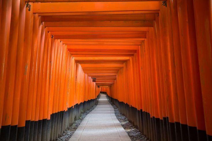 Ο ναός Fushimi Inari στην Ιαπωνία.  ©Pascal Mannaerts