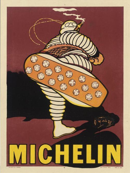 (MARIUS ROSSILLON) créateur de Bibendum Michelin- Galop Michelin 1910
