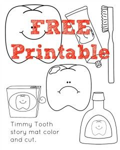 timmy the tooth coloring pages - photo#10