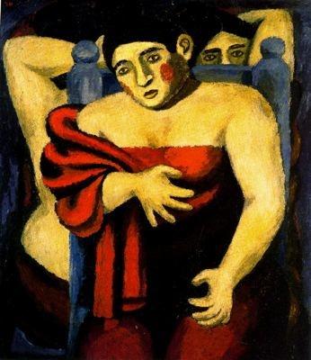 Rufino Tamayo - Bañistas www.artexperiencenyc.com