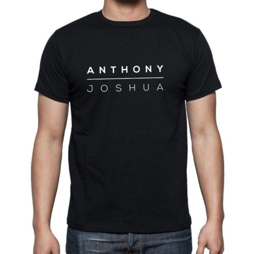 Anthony Joshua t-shirt (All Sizes) Black or White Top Quality + Fast Shipping in Clothes, Shoes & Accessories,Men's Clothing,Casual Shirts & Tops   eBay