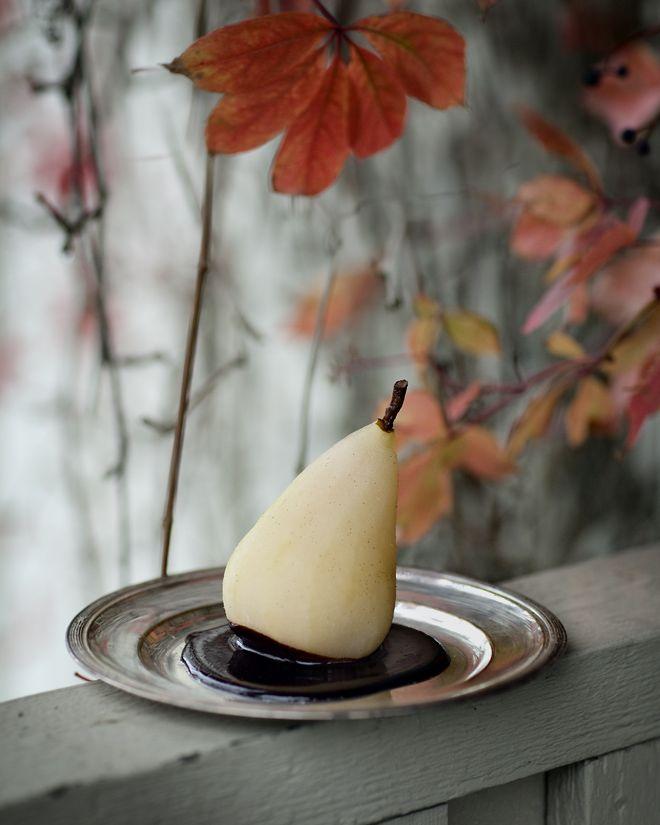 Våra oköttsliga lustar: Ingefärsinkokta päron