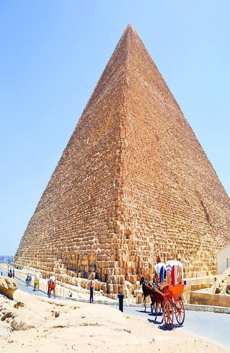 Explore the Pyramids of Giza