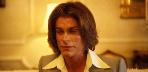 Behind the Candelabra was brilliant, especially Rob Lowe :) I was rollin' because of him!