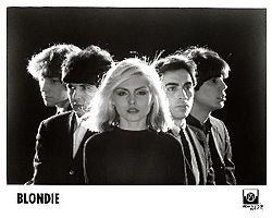 april 19,1980, Blondie went to No.1 on the US singles chart with 'Call Me', featured in the Richard Gere movie 'American Gigolo', the track was also a No.1 in the UK.