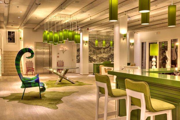 Lobby Lounge at Salvator Villas & Spa Hotel, Parga, Greece, www.salvator.gr