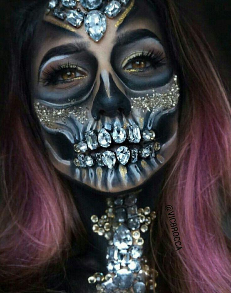 (Diamond Skull)  pinterset: @ glamskullcandy
