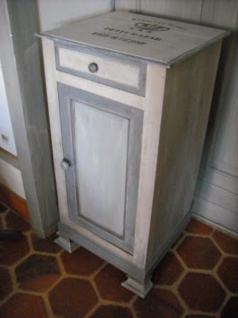 cours de peinture d corative d coration peinte shabby patine gris blanc charme campagne. Black Bedroom Furniture Sets. Home Design Ideas