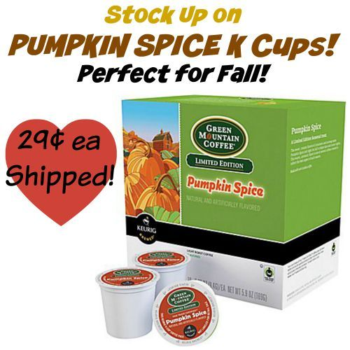 WOW!! Get Pumpkin Spice K Cups for only $0.29 each shipped from Staples! Stock up for the cool autumn weather!  Click the link below to get all of the details ► http://www.thecouponingcouple.com/wow-pumpkin-spice-k-cups-for-only-0-29-each-shipped/  #Coupons #Couponing #CouponCommunity  Visit us at http://www.thecouponingcouple.com for more great posts!