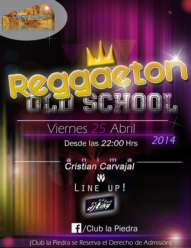 Fiesta exitosa reggaeton con todo el blin blin el afiche
