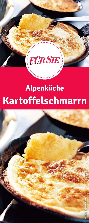 Alpenküche: Kartoffelschmarrn Rezept