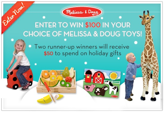 Melissa & Doug Cyber Week Deals + Chance to WIN Toys (Ends 11/27)