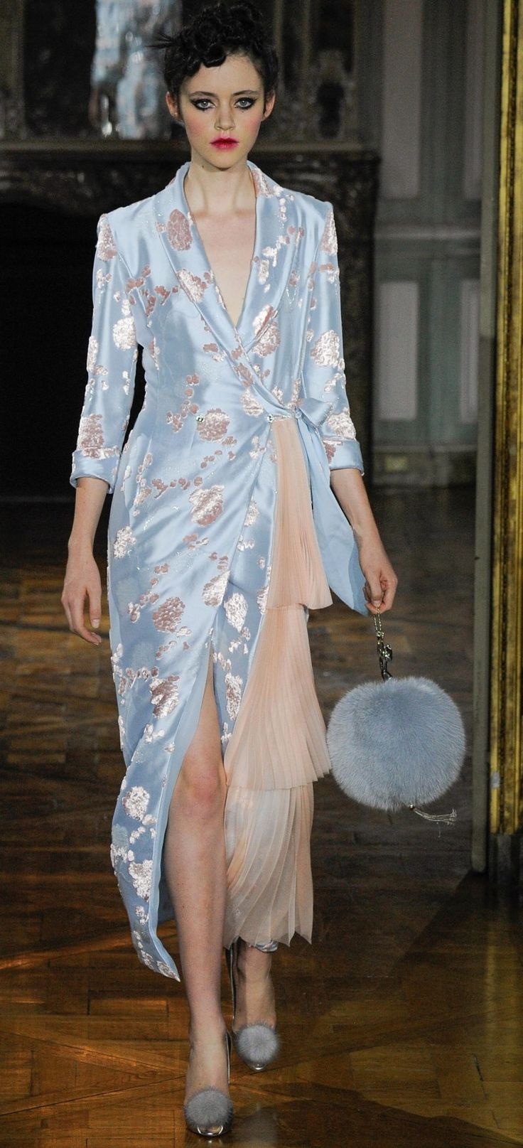 Ulyana Sergeenko Fall 2015 Couture Fashion Show