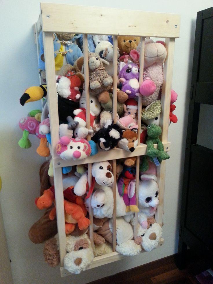 Nous avons fait notre propre zoo pour ranger toutes les peluches de nos b b s zoo for Idees pour la maison