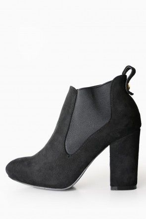 Phylis Ankle Boots in Black