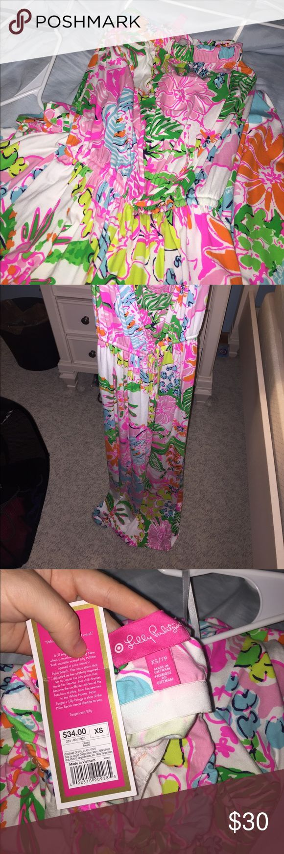 RARE!! Lilly For Target maxi dress! NWT!! Never been worn, doesn't fit and I grew out of this style. Lilly Pulitzer for Target Dresses Maxi