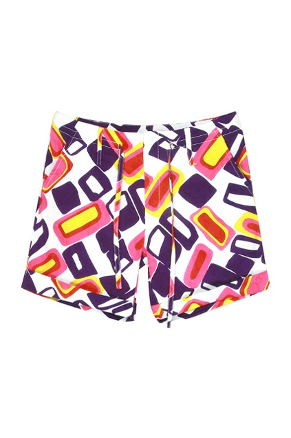Drawstring Waist Loose Cut Multi-coloured Shorts    $59.99  #romwe