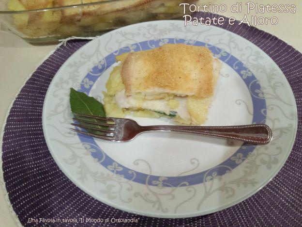 Uno dei piatti preferiti dalle mie bimbe, leggero e gustoso: come far apprezzare il pesce con semplicità! #tortinodiplatessa #patate #alloro #senzaglutine #senzalattosio #archvioblog #profumodibuono #pesceintavola #fattoincasaèpiùbuono #unafavolaintavola #ilmondodiortolandia