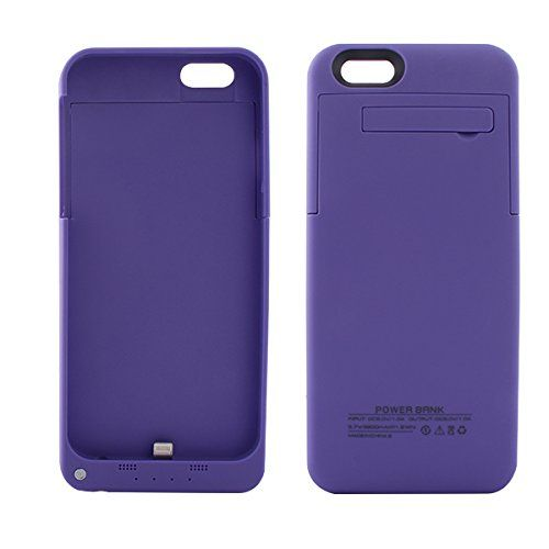 Purple coloured charging power case for iPhone 6 6s model phones available from our webstore
