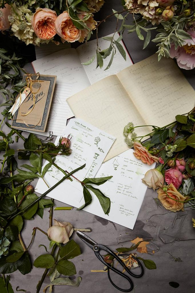Flowers & papers