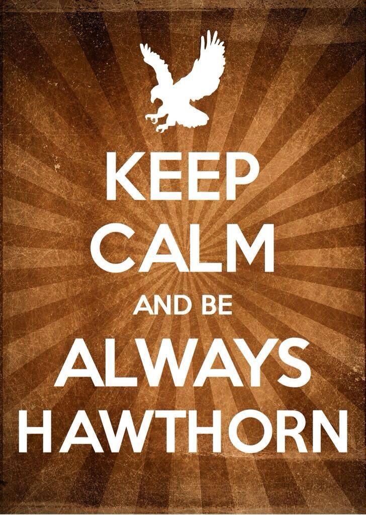 Hawthorn Hawks. Keep calm!