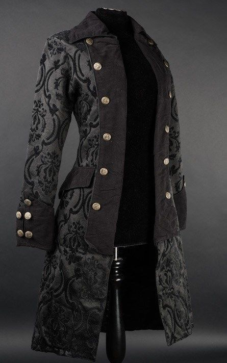 Damen Mantel Jacke Pirate Princess Coat Brokat Victorian Gothic Cute RQ Black  in Kleidung & Accessoires, Damenmode, Jacken & Mäntel | eBay!