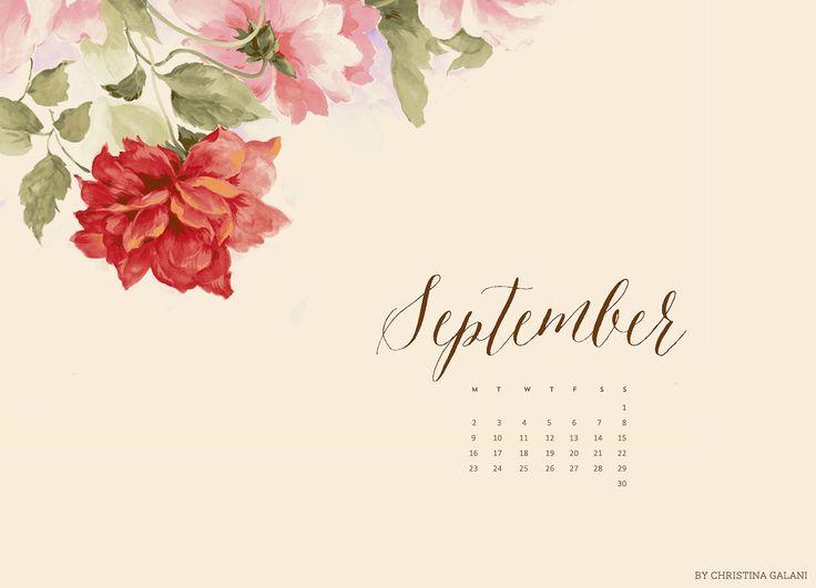 Calendar Desktop Wallpaper September : September desktop calendar sorry for the delay i had a
