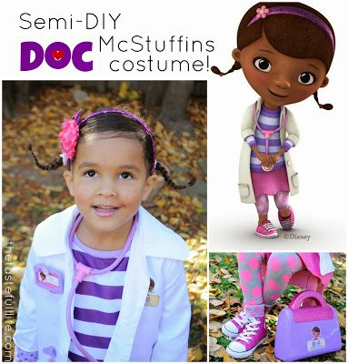 Taste{Full}: The Doc is In: Semi-DIY Doc McStuffins Costume.