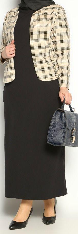 Melisita Emel Ceket Elbise Takım