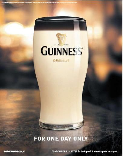 Guinness April Fool's Day (wish I had thought of this)