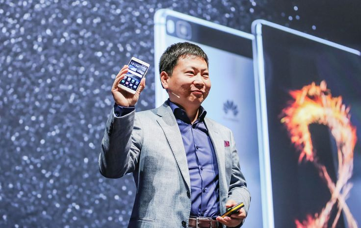 The launch of the Huawei P8