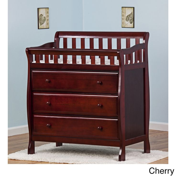Dream On Me Marcus Changing Table And Dresser, Choose Your Finish, Brown