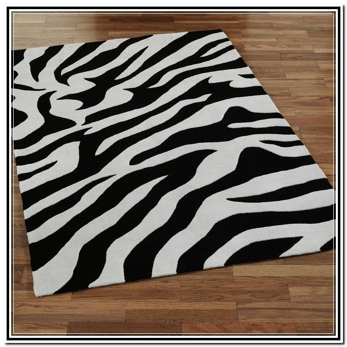 Black And White Area Rugs For Sale