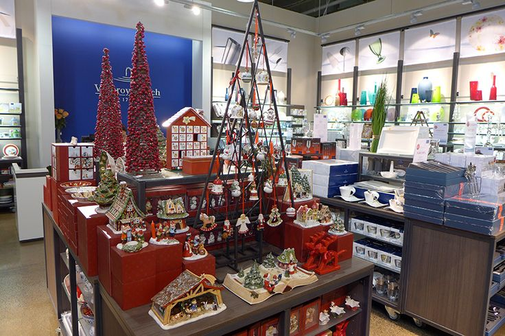 We know Christmas is just around the corner when Villeroy and Boch, Brand Smart feature their display. Create a festive atmosphere in your home with their lovingly crafted decorations. #brandsmart